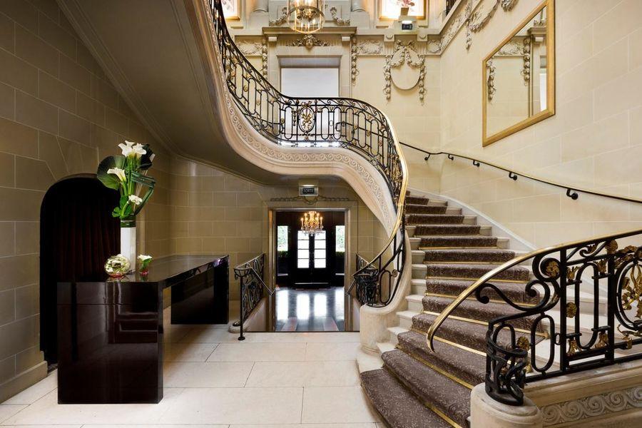 Le Pré Catelan - Escalier