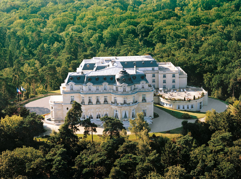 Tiara chateau hotel mont royal vue aerienne