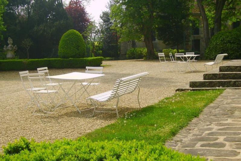 Château de Nandy - Cour intérieure