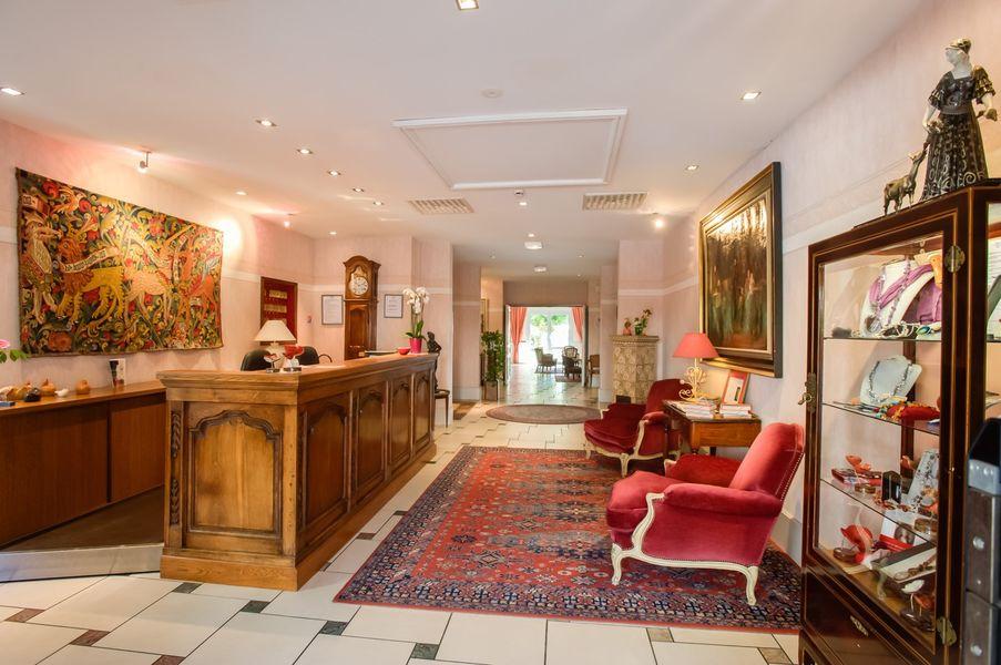 Hôtel Beau Rivage - Accueil