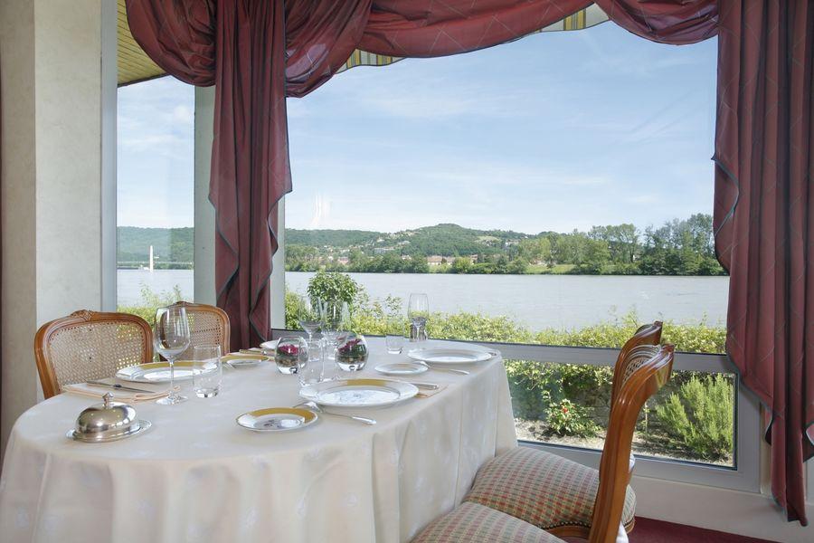 Hôtel Beau Rivage - Restaurant