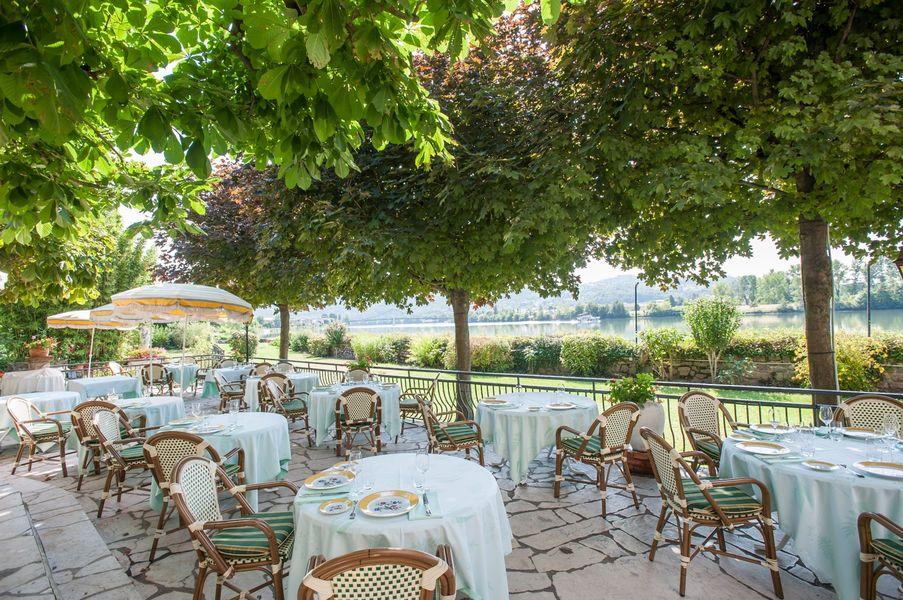 Hôtel Beau Rivage - Terrasse