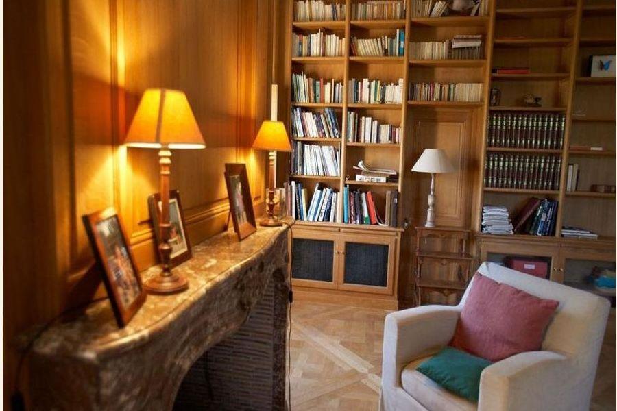 Château de la Cour Senlisse - Petit salon