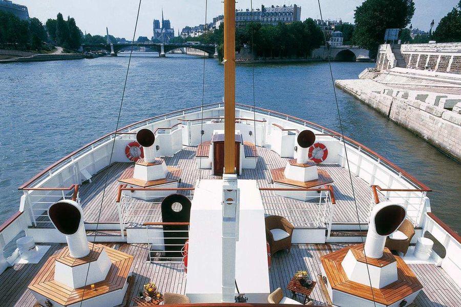 Yacht de Paris Le Paquebot - Pont supérieur 4