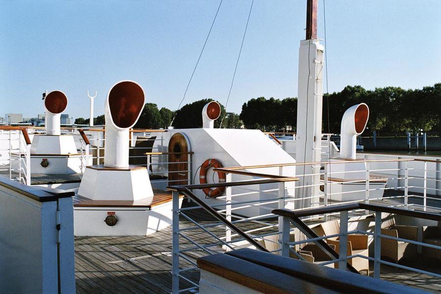 Yacht de Paris Le Paquebot - Pont supérieur 3