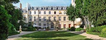 Jardin et façade