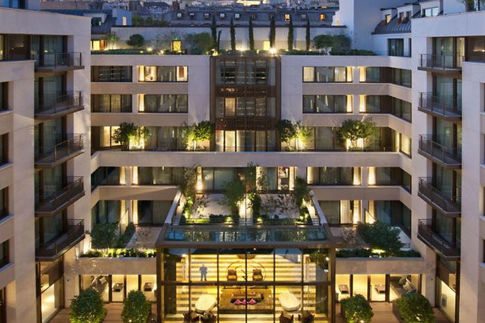 Hôtel Mandarin Oriental - Façade