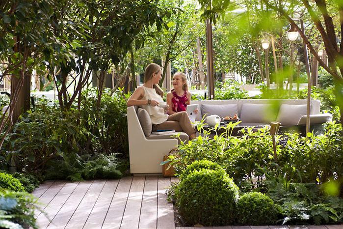 Hôtel Mandarin Oriental - Le Jardin