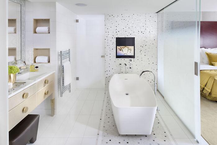 Hôtel Mandarin Oriental - Salle de bain 2