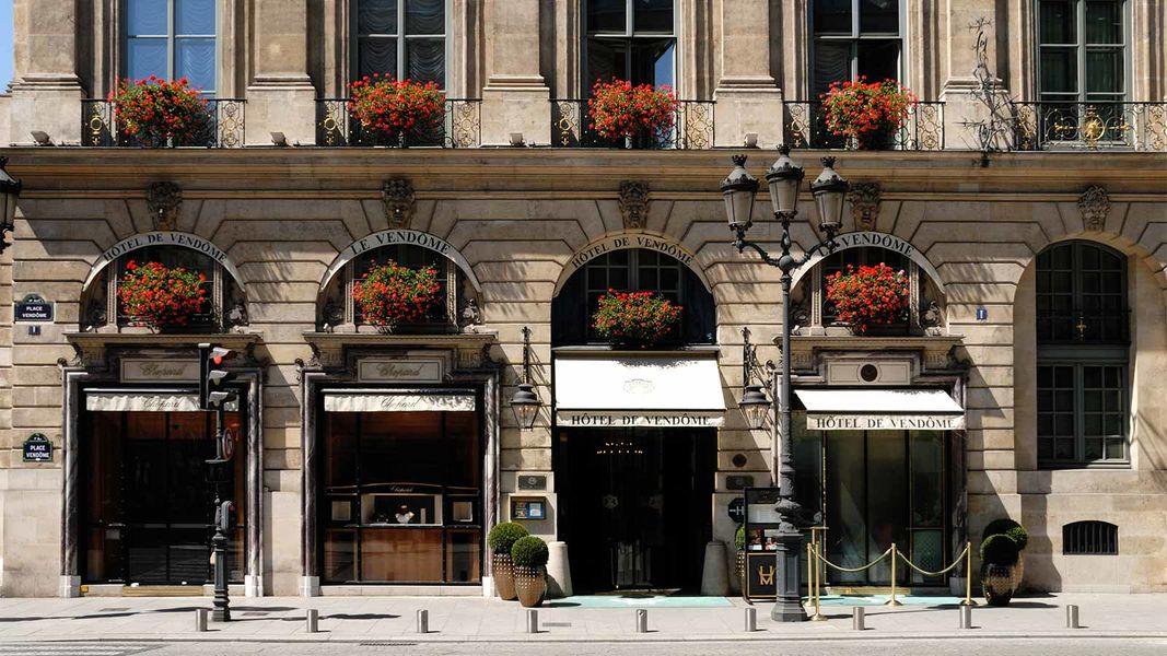 Hôtel de Vendôme - Façade 2