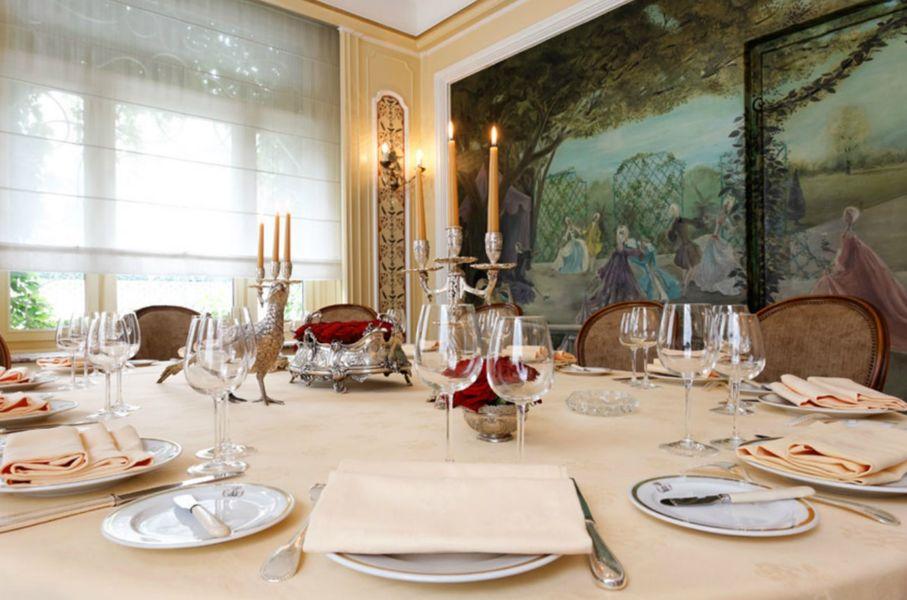Restaurant Lasserre - Art de la table