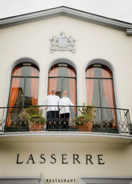 Restaurant Lasserre - Façade