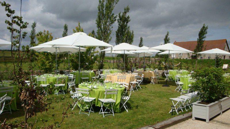 Domaine de Mauvoisin - Réception sur la terrasse 3