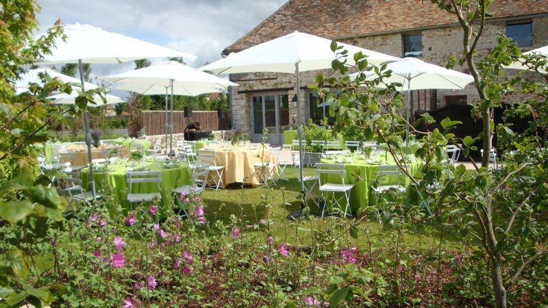 Domaine de Mauvoisin - Réception sur la terrasse