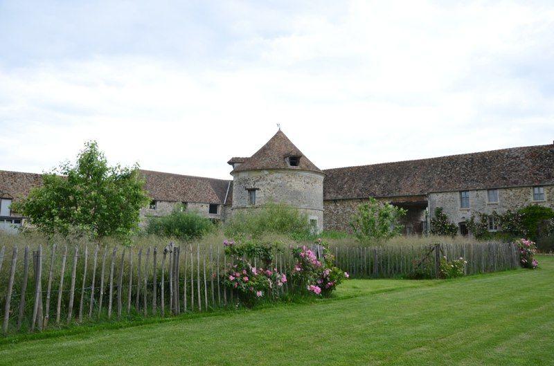 Domaine de Mauvoisin - Cour intérieure