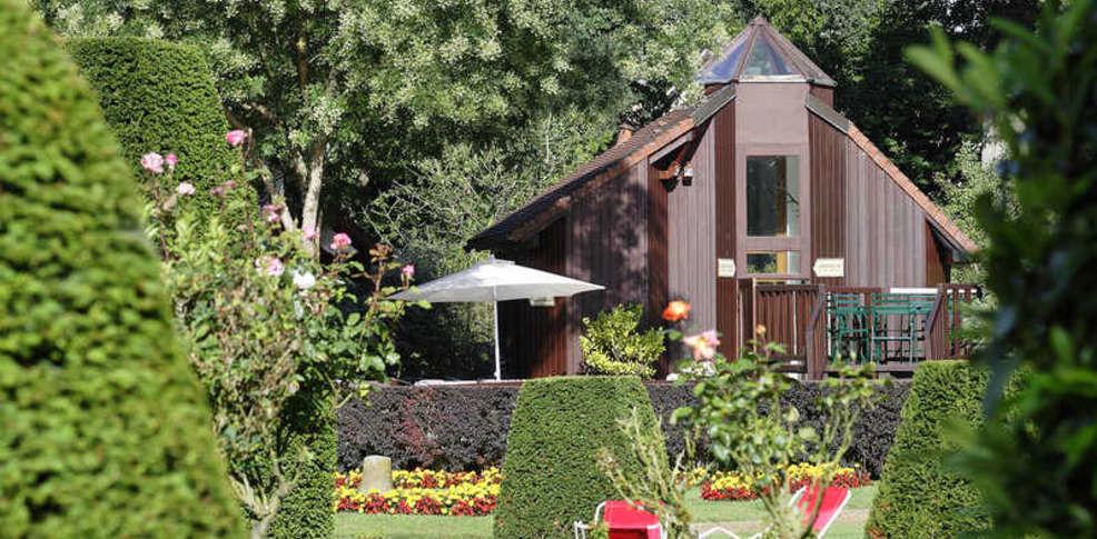 Hotellerie du Bas Bréau - Jardin 3
