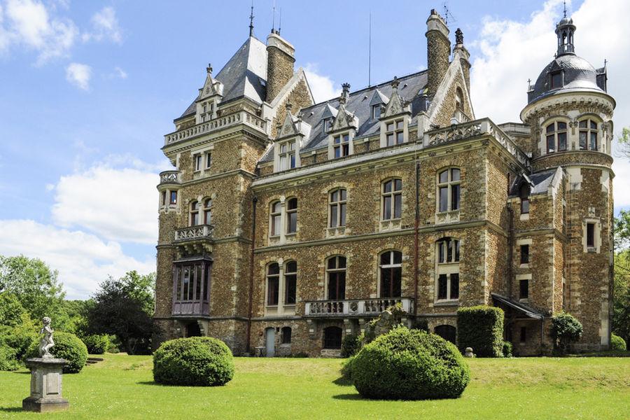 Château de Méridon - Façade arrière du château 2