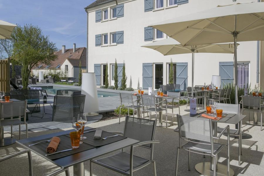 Best Western The Wish Versailles - Terrasse 3