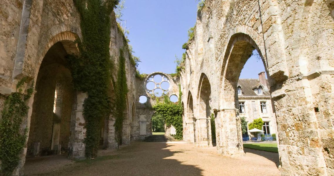 Abbaye de Cernay - L'Abbatiale