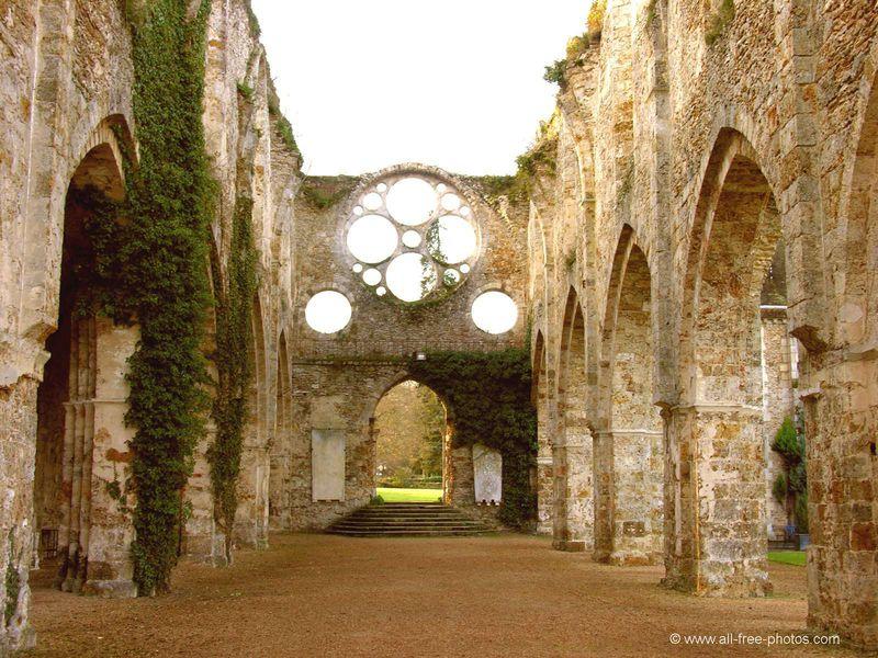 Abbaye de Cernay - L'Abbatiale 2