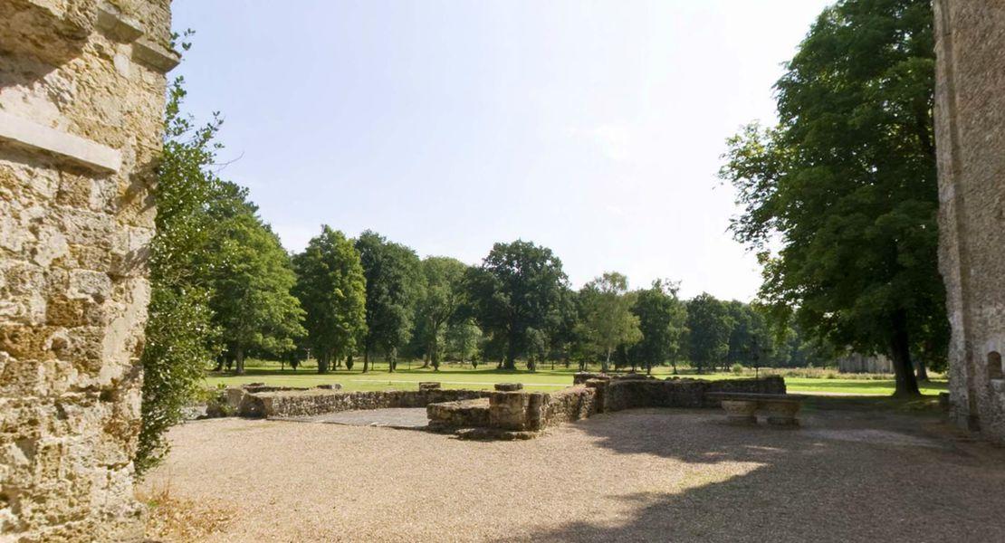 Abbaye de Cernay - Parc