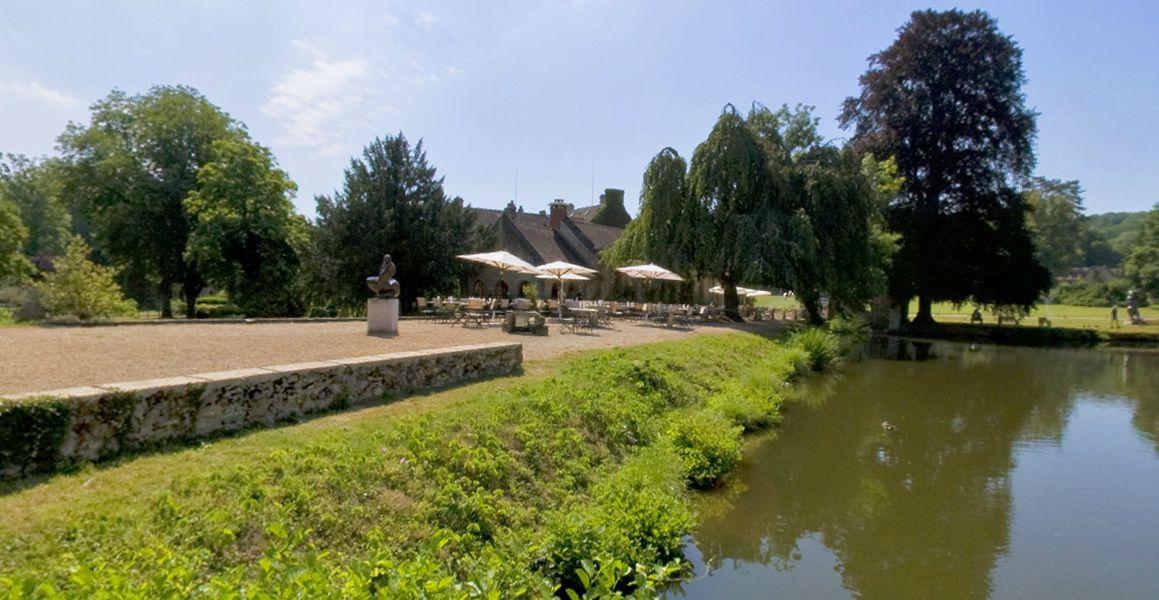 Abbaye de Cernay - Terrasse