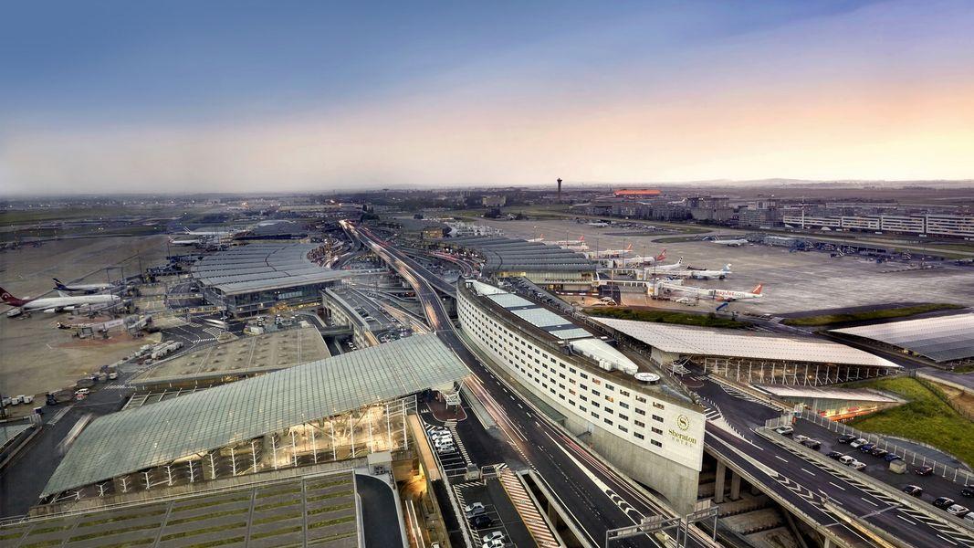 Sheraton Paris Airport - Vue aérienne