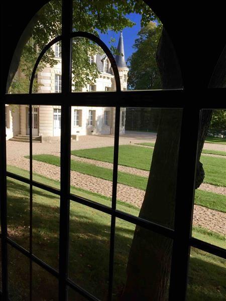 Château d'Hardricourt - Vue depuis l'Orangerie