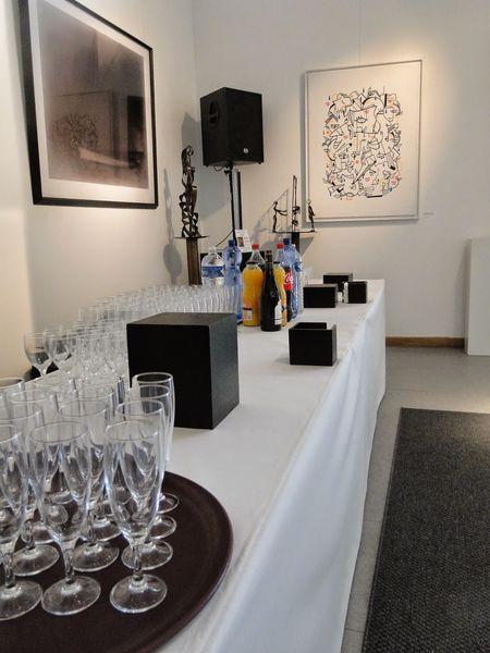 Espace Grange - Buffet cocktail en intérieur