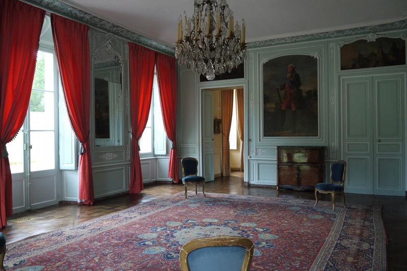 Château de Mauvières - Salon de Rohan 1
