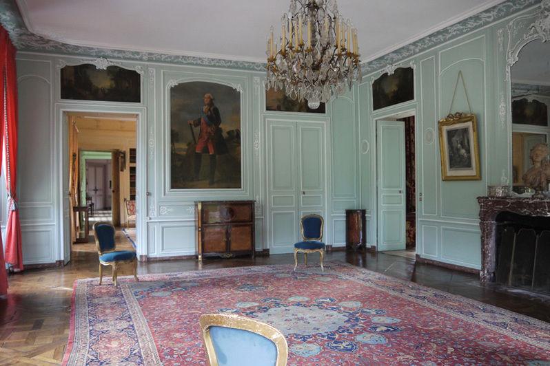 Château de Mauvières - Salon de Rohan 2