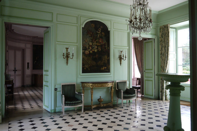 Château de Mauvières - Salon Loewestine 1