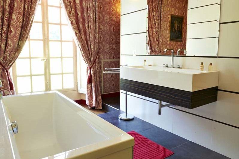 Château de Mauvières - Salle de bain
