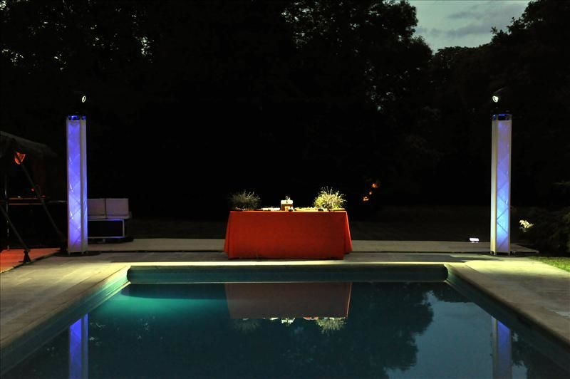 Demeure Lamaury - Piscine de nuit