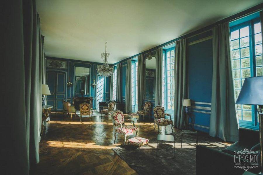Château de Neuville - Le Salon Bleu 3