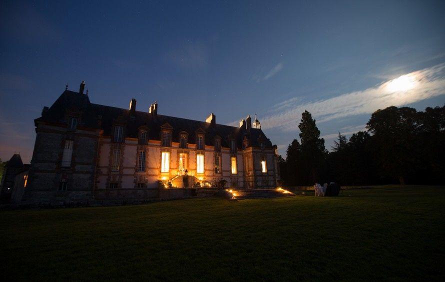 Château de Neuville - Le Château de nuit