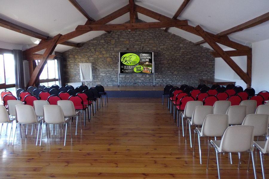 Garden XVIII - Salle de réception 2