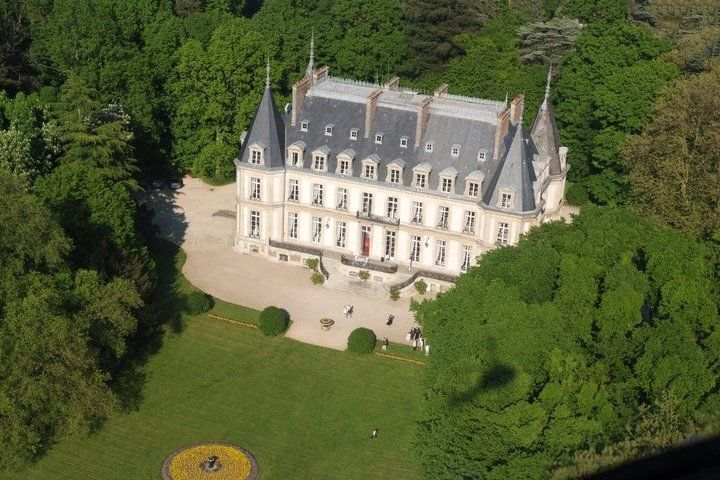 Château de Santeny - Vue aérienne