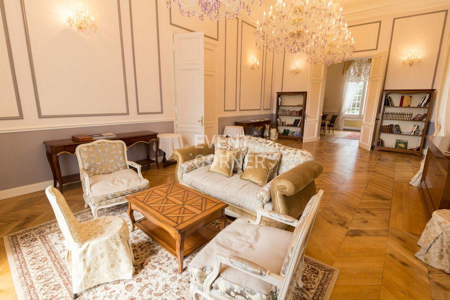 Château de Bouffémont - Salon de la Marquise 1