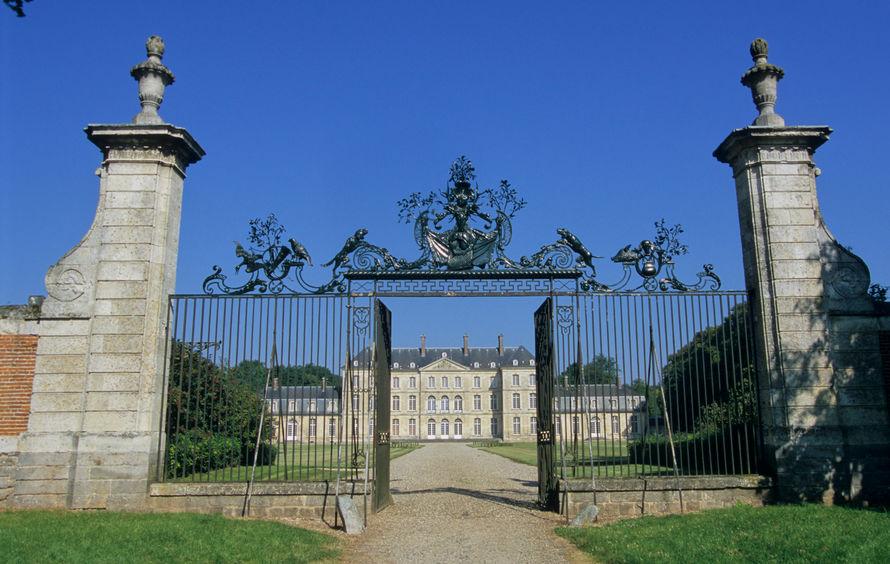Château de Bertangles - Entrée du Château