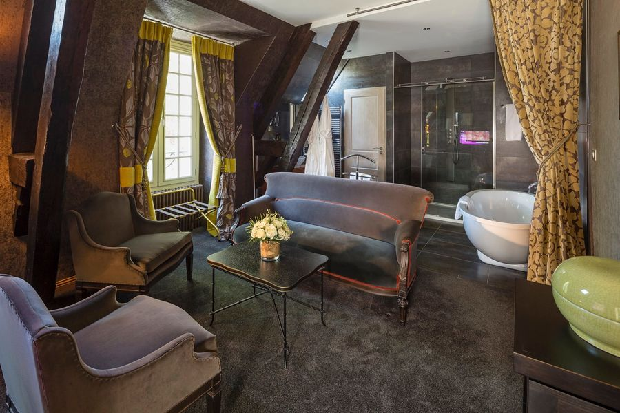 Château de Fère - Salle de bain