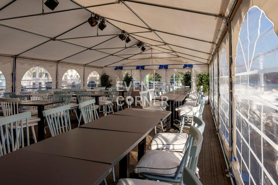 Le Salon sur L'eau - Terrasse couverte 11