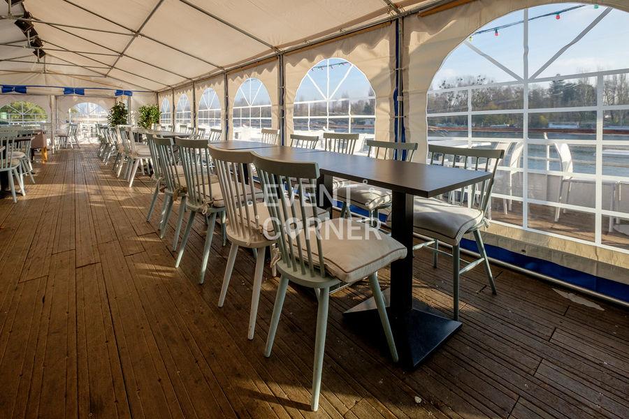 Le Salon sur L'eau - Terrasse couverte 10