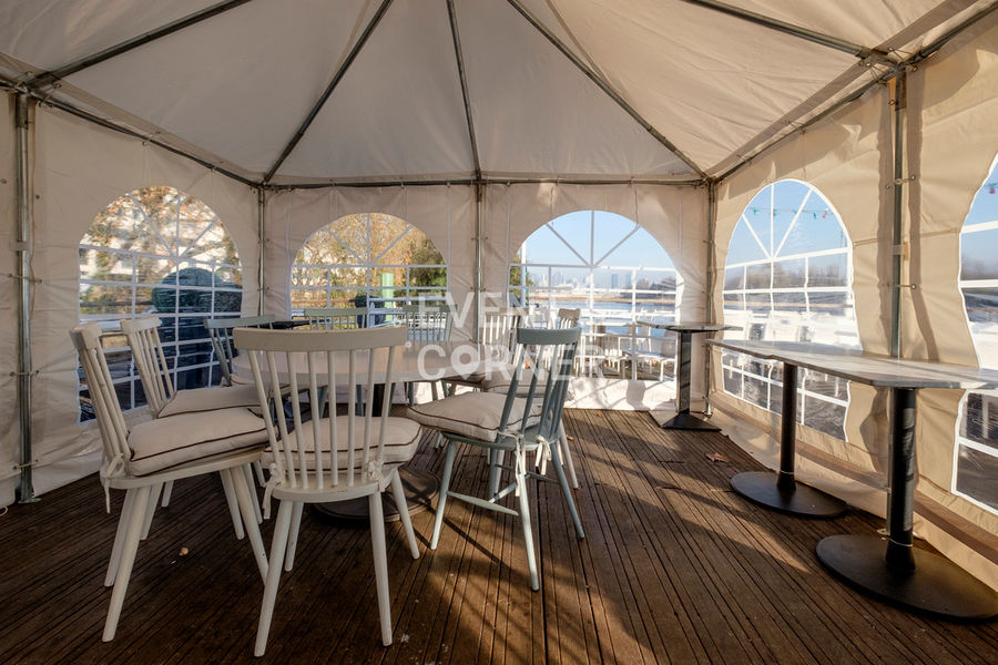 Le Salon sur L'eau - Terrasse couverte 8