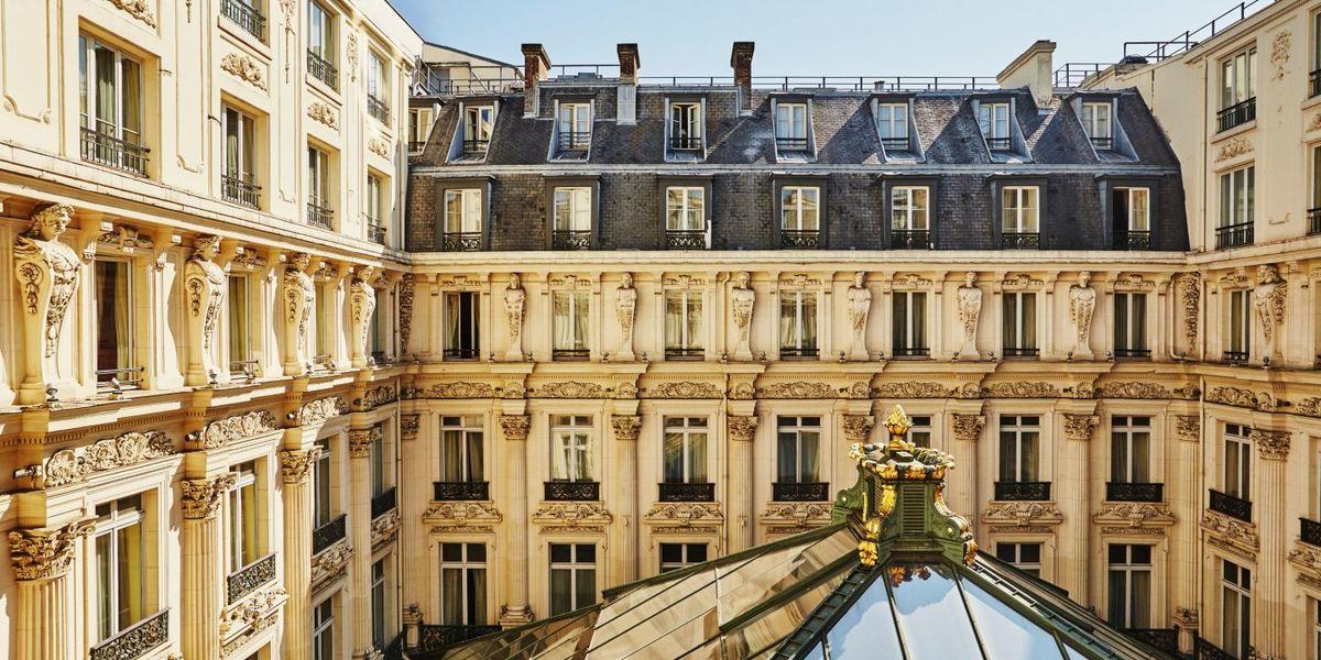 Intercontinental Paris le Grand - Vue extérieure