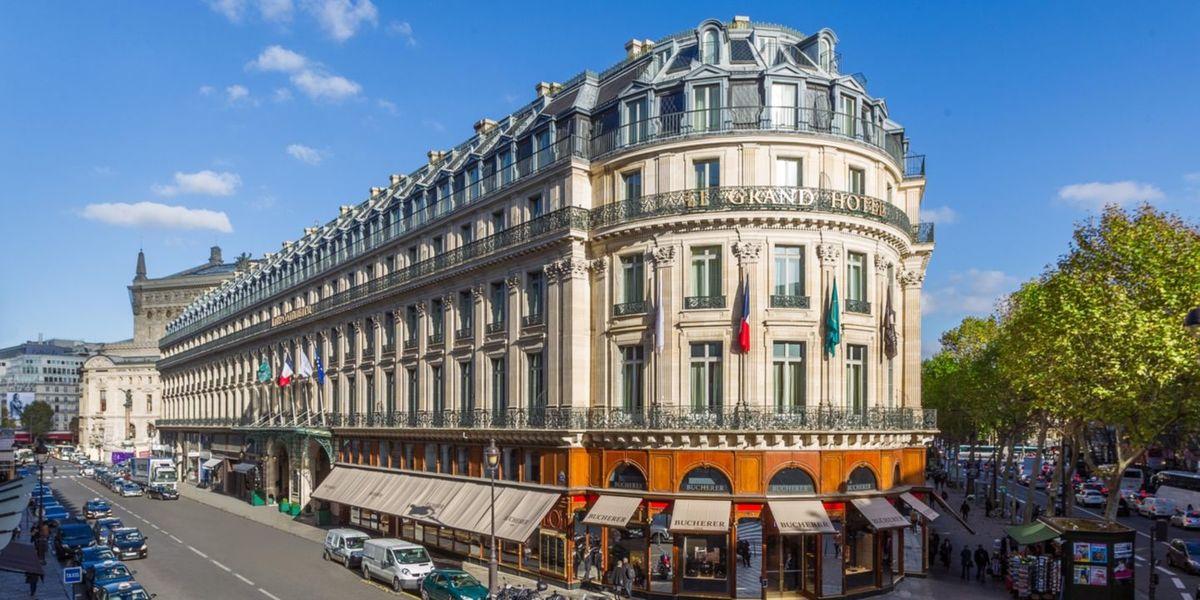 Intercontinental Paris le Grand - Façade de l'hôtel 3