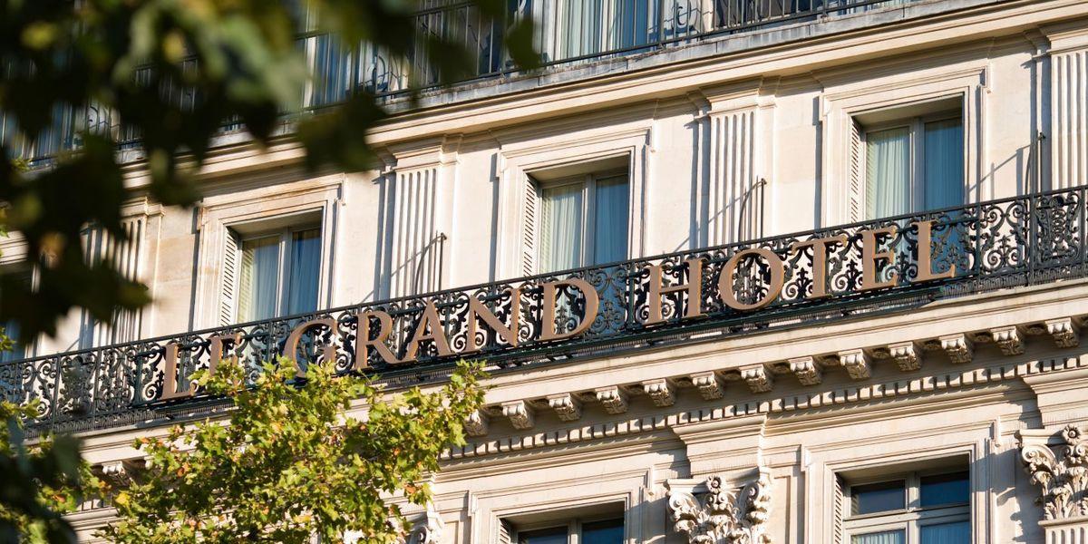 Intercontinental Paris le Grand - Façade de l'hôtel 2