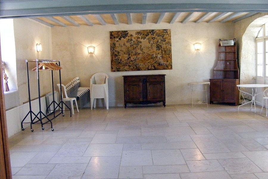 Château de Limé - Salle des arches