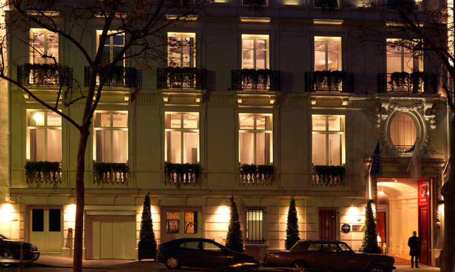 Hôtel Intercontinental Avenue Marceau - Façade