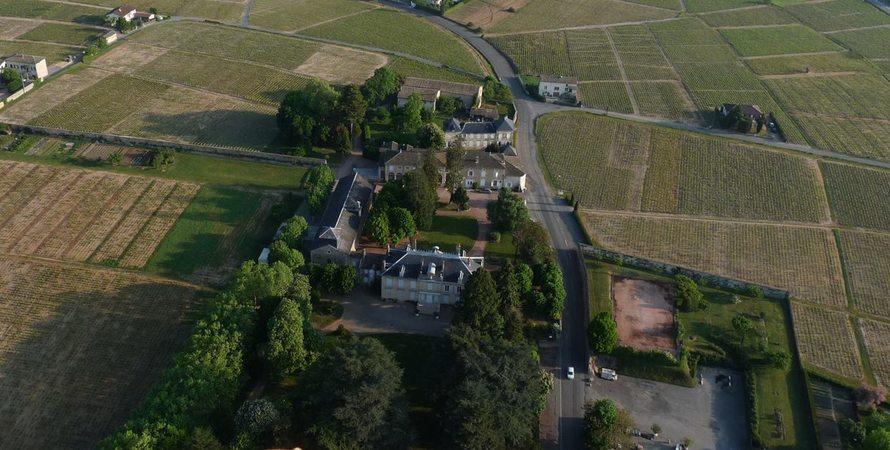 Château des Ravatys - Vue aérienne